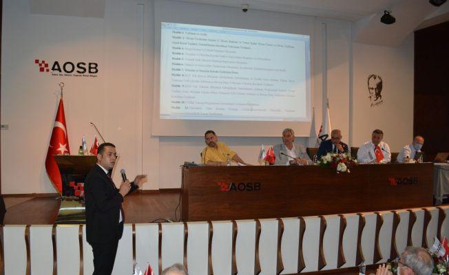 AOSB 15. Olağan Genel Kurulu yapıldı