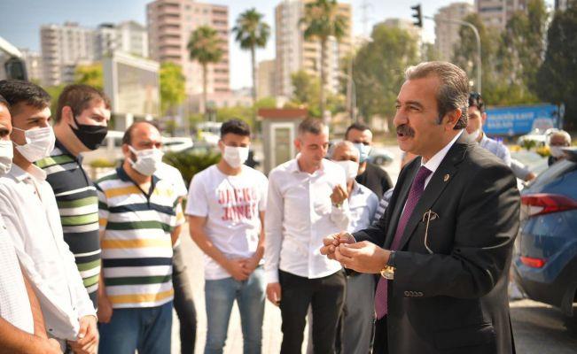 Çetin, İstihdam Birimi'ne başvuran 50 kişiyi iş görüşmesine uğurladı