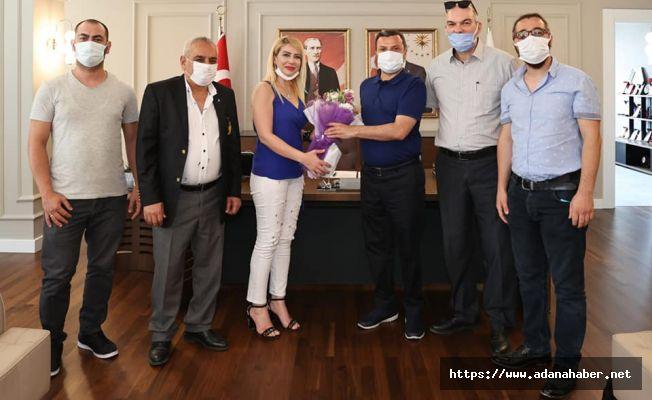 ÇİGDER Yönetim kurulundan Başkan Kocaispir'eziyaret