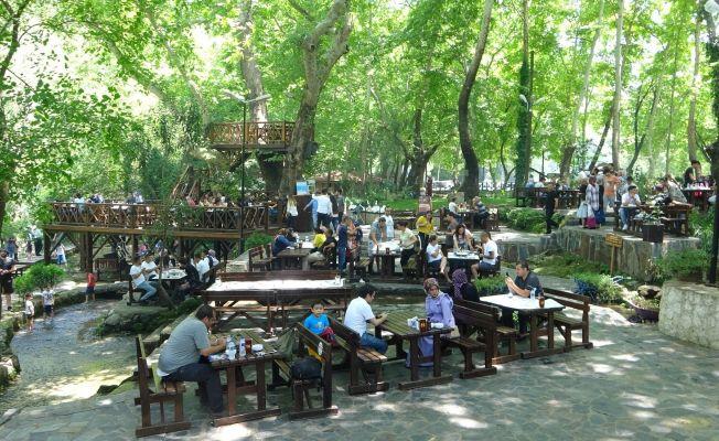 Dağılcak Tabiat Parkı doğa tutkunlarının akınına uğradı