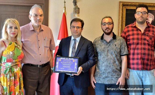 İnternet Gazetecilerinden il Müdürü Durgun'a ziyaret