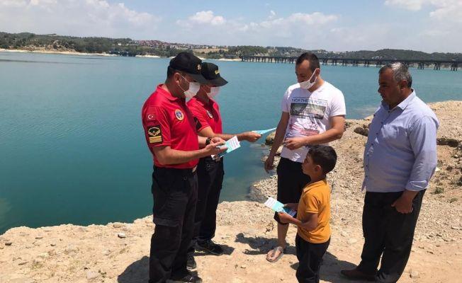 Jandarma suda boğulmalara karşı uyardı