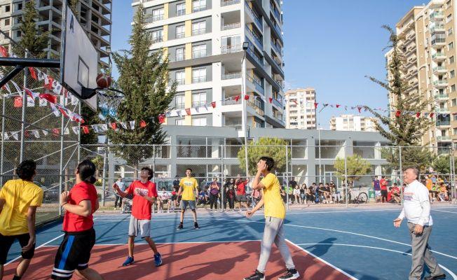 Streetball Turnuvası başladı