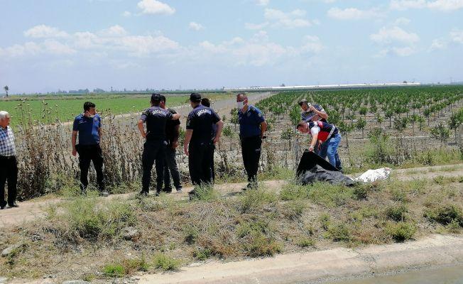 Sulama kanalına uçan araçtaki 2 kişinin cesedi 10 km uzaklıkta bulundu