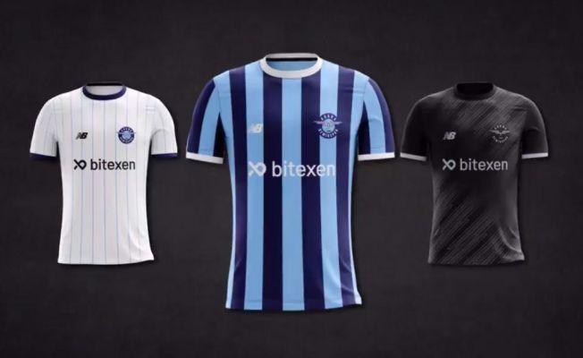 Adana Demirspor, yeni sezon formalarını tanıttı