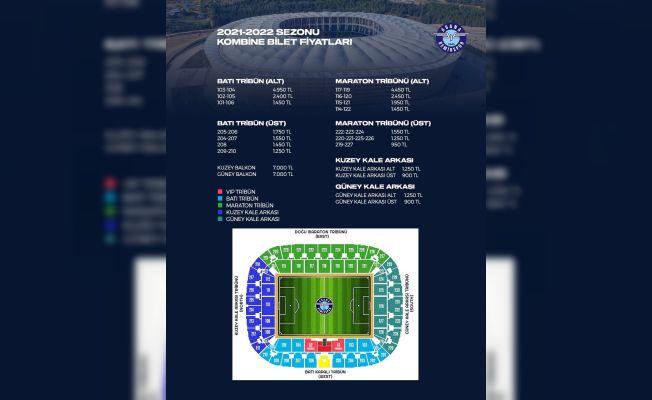 Adana Demirspor'un 2021-2022 sezonu kombine bilet fiyatları belli oldu