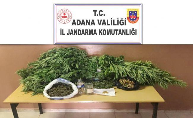 Adana'da uyuşturucu operasyonu: 3 gözaltı