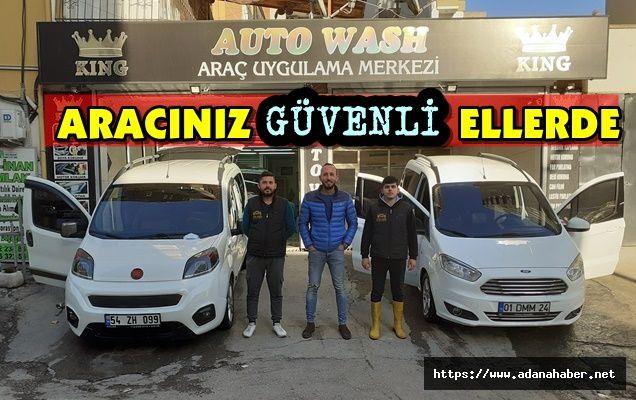 AUTO WASH ARAÇ UYGULAMA MERKEZİ - KOLTUK YIKAMA