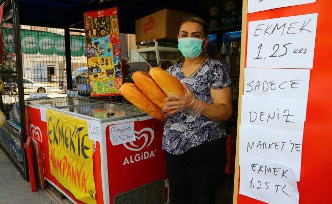 Fırıncıya kızdı ekmek fiyatını aşağı çekti