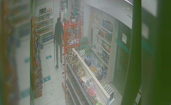 Akaryakıt soygunu saniye saniye görüntülendi