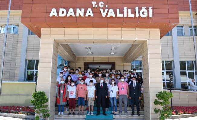 Vali Elban'ın hemşehrileri Adana'da