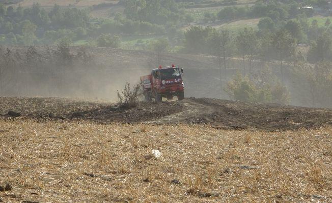 Kozan'da aynı bölge ikinci orman yangını