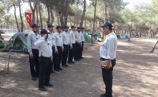 Adana'da izciler, liderlik eğitim kursuna alındı