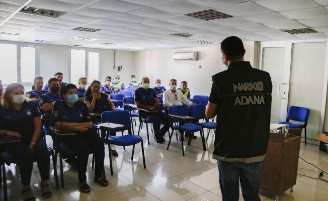 Adana'da uyuşturucuya karşı emniyet-zabıta iş birliği