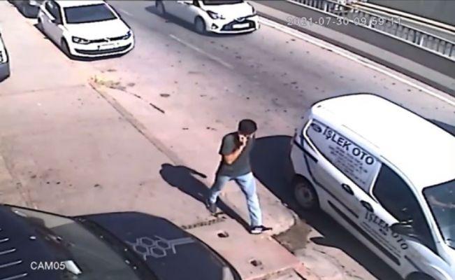 Babasını vurmak isterken hedefi şaşırdı