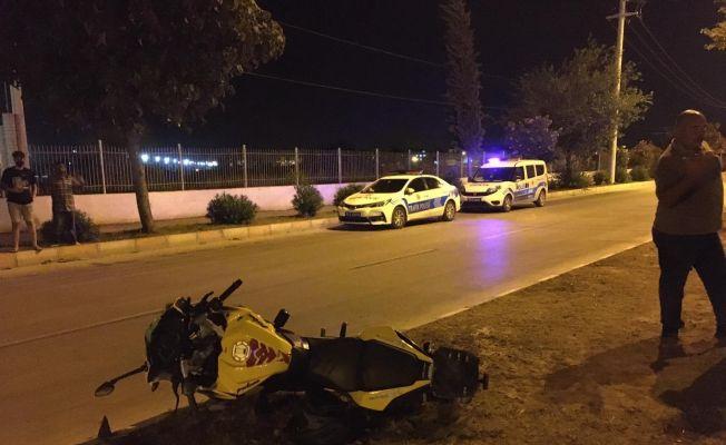Ceyhan'da trafik kazası: 2 yaralı