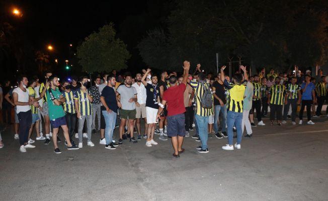 Galatasaray taraftarından ağır tahrik