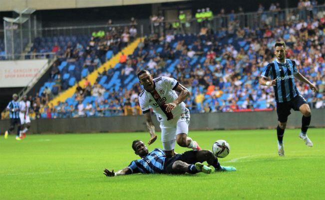 Adana Demirspor: 1 - Beşiktaş: 1