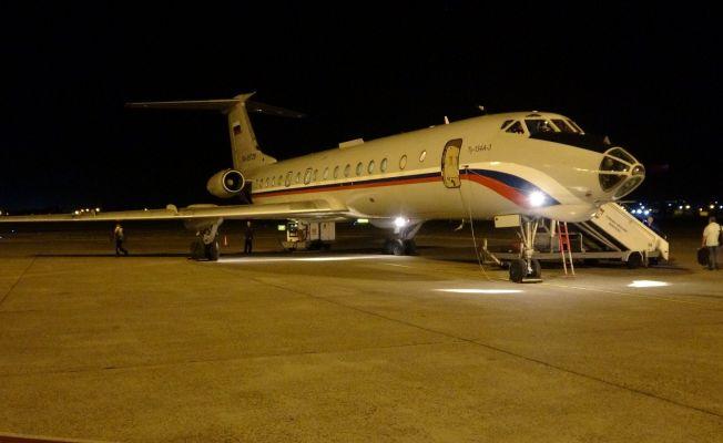 Kaza kırıma uğrayan uçakta ölen Rusya uyruklu 5 kişi memleketlerine gönderildi