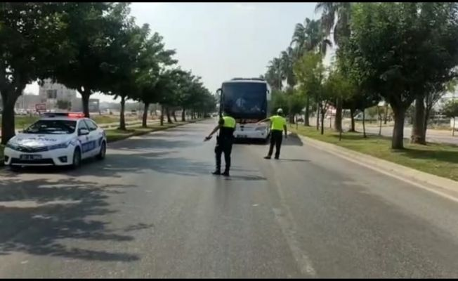 Otobüslerde emniyet kemeri uygulaması