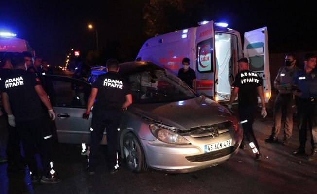 Otomobil ve minibüs kavşakta çarpıştı: 1 ölü, 3 yaralı