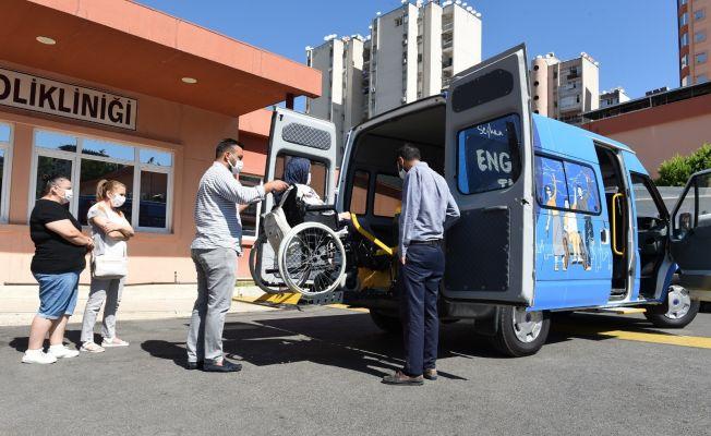 Seyhan'da engelsiz taksi uygulaması