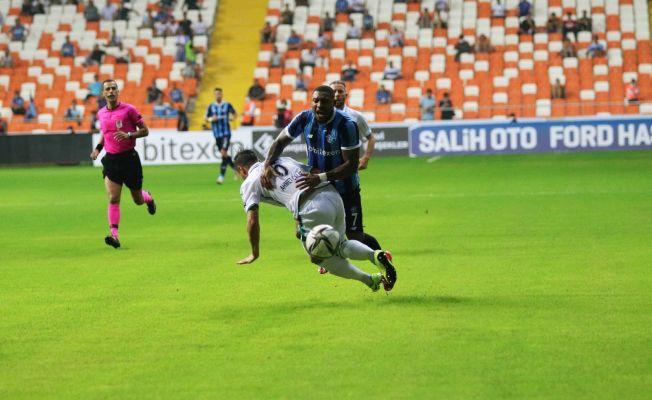 Süper Lig: Adana Demirspor: 0 - Konyaspor: 0 (İlk yarı)