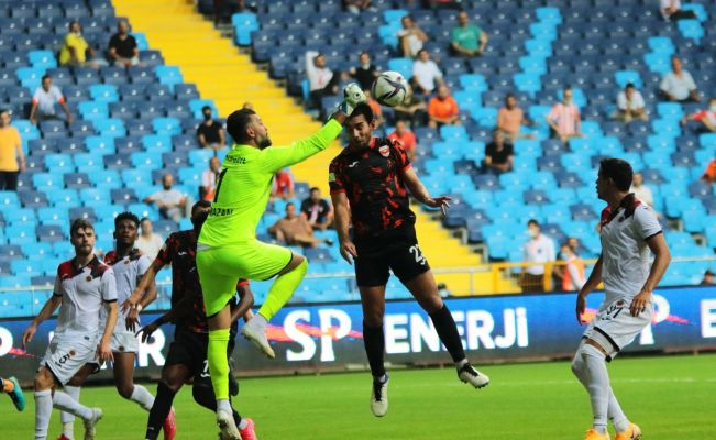 TFF 1. Lig: Adanaspor: 0 - Gençlerbirliği: 0