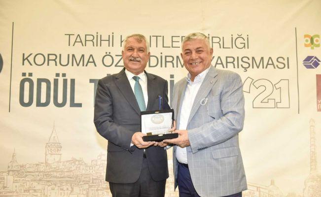 Büyükşehir Belediyesi'ne Proje Süreklilik Ödülü