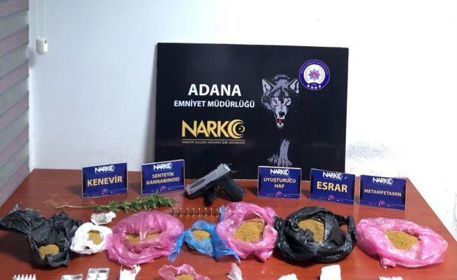 Adana'da 44 'torbacı' tutuklandı