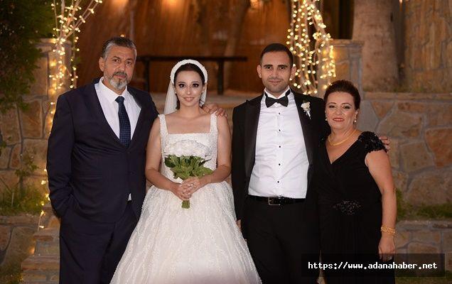 Adanalı iş adamı Mustafa Fikir kızını evlendirdi
