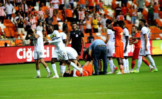 Adanaspor'da Berkan Fırat'ın ayağı kırıldı