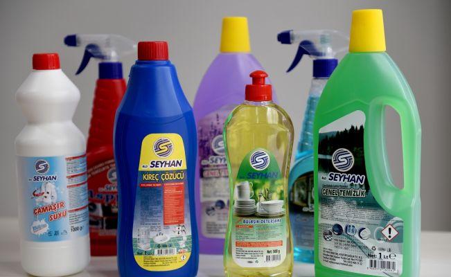 Belediye imalatı temizlik ürünleri Seyhan Halk Pazarında