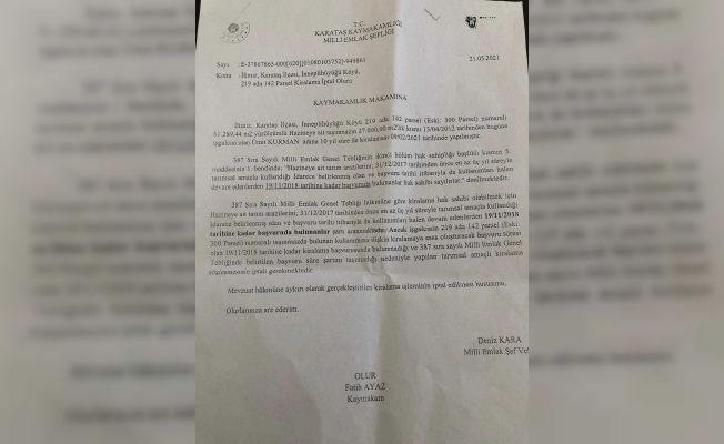 Karataş'ta milyonluk rüşvet operasyonu