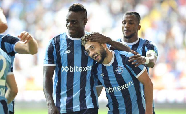 Süper Lig: Adana Demirspor: 2 - Çaykur Rizespor: 0 (İlk yarı)