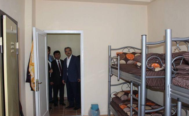 Tufanbeyli'de üniversite öğrencilerine ücretsiz konaklama