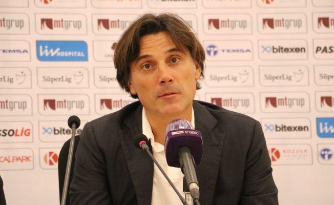 """Vincenzo Montella: """"Daha fazla gol atabilirdik"""""""