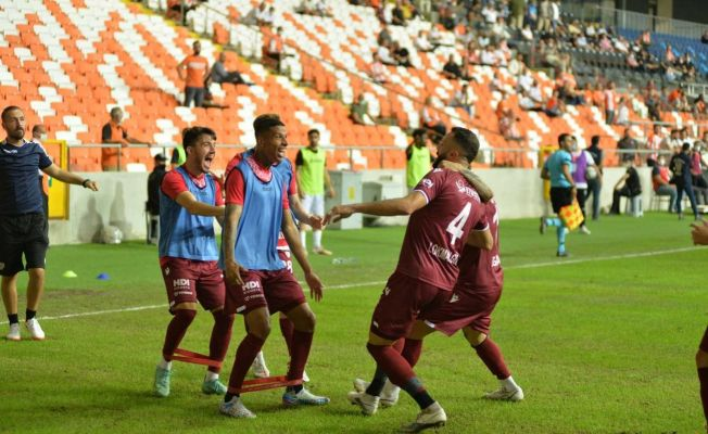 TFF 1. Lig: Adanaspor: 1 - Bandırmaspor: 5